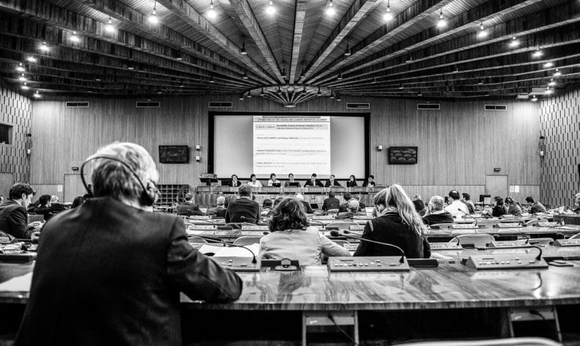 Report of the first Ocean & Climate Initiatives Alliance Meeting