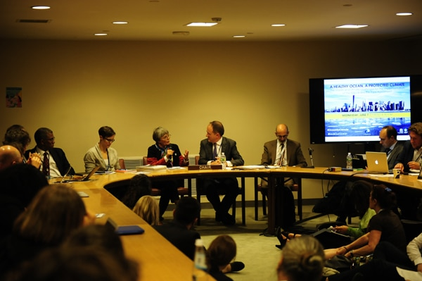 Second meeting of the Ocean & Climate Alliance at the United Nations