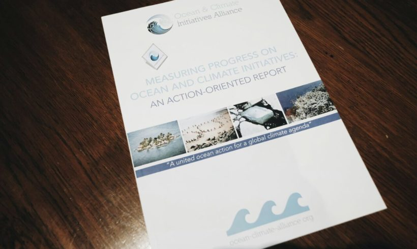 The OCIA launches the first synthesis of the ongoing actions led by the ocean-climate community